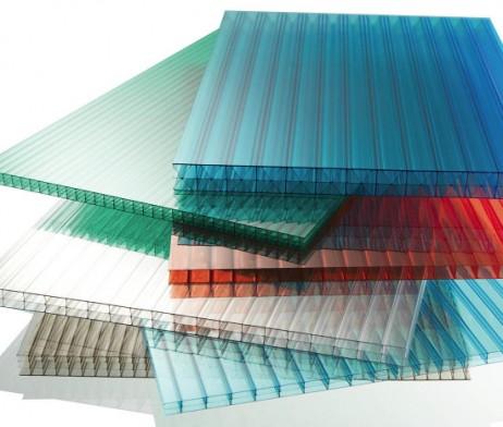 Πολυκαρβονικό κυψελωτό σε διάφορα χρώματα