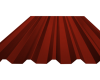 Λαμαρίνα 8 Κορυφών Χρώμα ral 3013