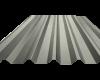 Λαμαρίνα 8 Κορυφών Χρώμα ral 9002