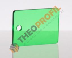 ακρυλικο φυλλο cast πρασινο διαφανο