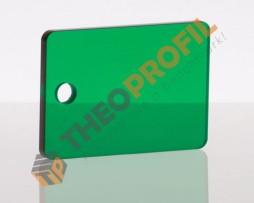 ακρυλικο φυλλο cast πρασινο σκουρο διαφανο