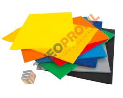 Συμπαγές pvc διπλής εξέλασης μαύρου χρώματος - Foamalite color