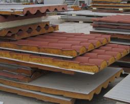 πάνελ οροφής κεραμίδι ρωμαϊκό β' διαλογής